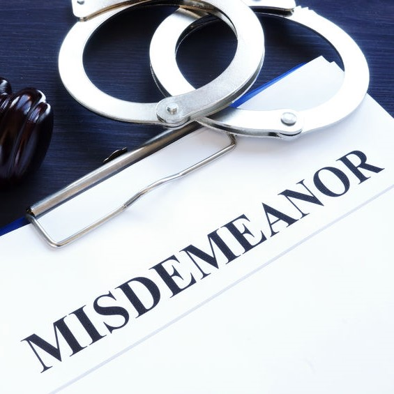 misdemeanor and cuffs