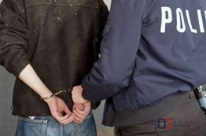 Defendant Being Arrested on a Felony Charge